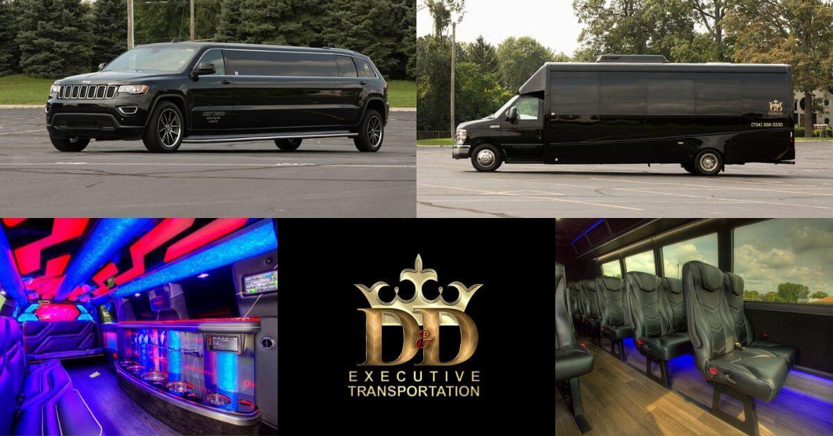 Limousine vs. Mini Coach - D&D Executive Transportation